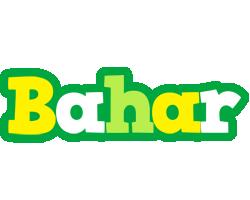 Bahar soccer logo