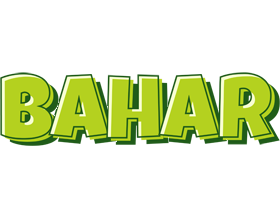Bahar summer logo