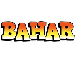 Bahar sunset logo