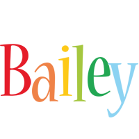 Bailey birthday logo