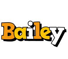 Bailey cartoon logo