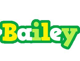 Bailey soccer logo