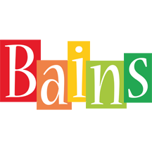 Bains colors logo