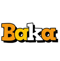 Baka cartoon logo
