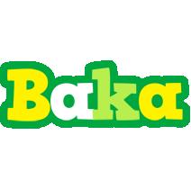 Baka soccer logo