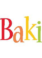 Baki birthday logo