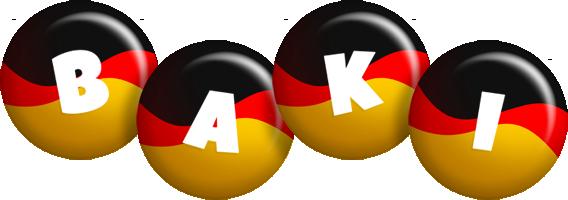 Baki german logo
