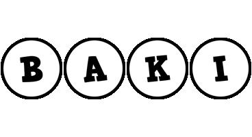 Baki handy logo