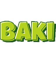 Baki summer logo