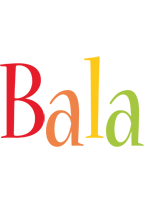 Bala birthday logo