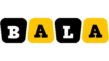 Bala boots logo