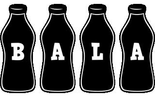 Bala bottle logo