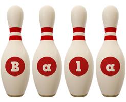 Bala bowling-pin logo