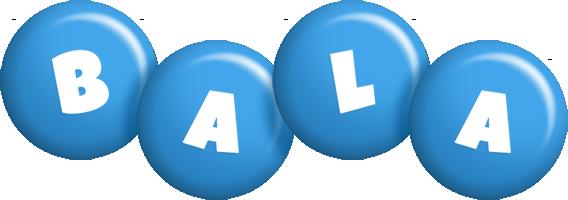 Bala candy-blue logo