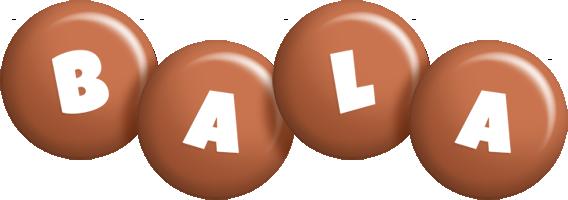 Bala candy-brown logo
