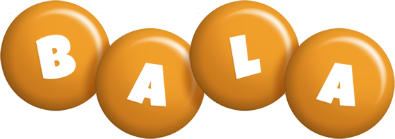 Bala candy-orange logo