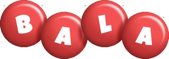 Bala candy-red logo