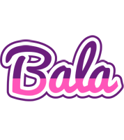 Bala cheerful logo