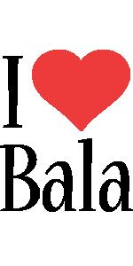 Bala i-love logo