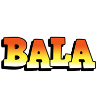 Bala sunset logo