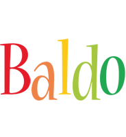 Baldo birthday logo