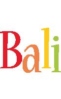 Bali birthday logo