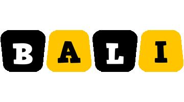 Bali boots logo