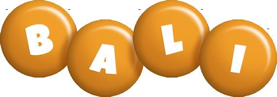 Bali candy-orange logo