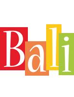 Bali colors logo