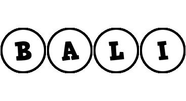 Bali handy logo