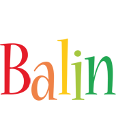 Balin birthday logo