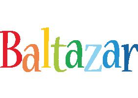 Baltazar birthday logo