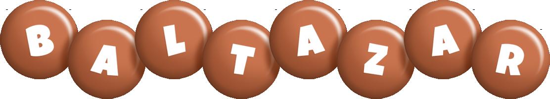 Baltazar candy-brown logo