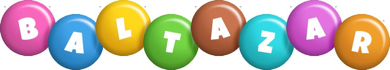 Baltazar candy logo