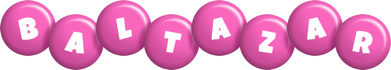 Baltazar candy-pink logo