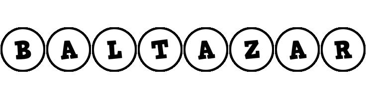 Baltazar handy logo