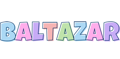 Baltazar pastel logo
