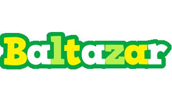 Baltazar soccer logo