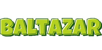 Baltazar summer logo