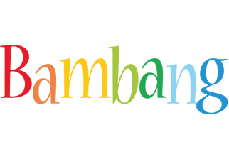 Bambang birthday logo