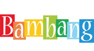 Bambang colors logo
