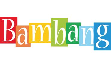 Bambang colors logo