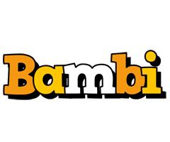 Bambi cartoon logo