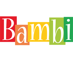 Bambi colors logo