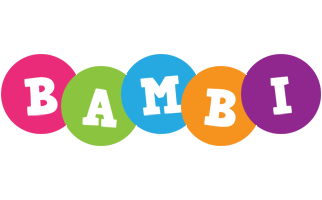 Bambi friends logo