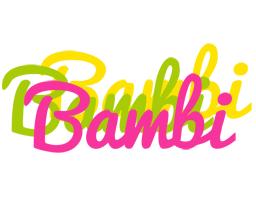 Bambi sweets logo