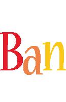 Ban birthday logo