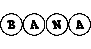 Bana handy logo