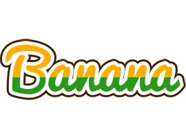 BANANA logo effect. Colorful text effects in various flavors. Customize your own text here: https://www.textGiraffe.com/logos/banana/