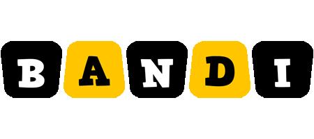 Bandi boots logo
